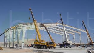 Endüstriyel Çelik Yapı